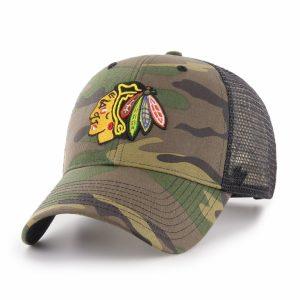 ŠILTOVKA NHL CHICAGO BLACKHAWKS ´47 BRAND CAMO BRANSON